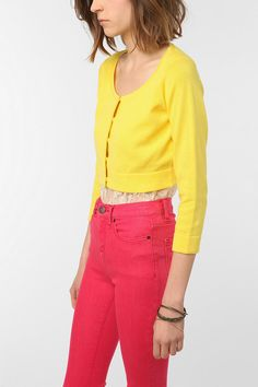 Add some yellow to your spring wardrobe. 2012SP