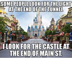 "The post ""Disneyland& castle at the end of Main Street ✨"" appeared first on Pink Unicorn Quotes Disney Nerd, Disney Fanatic, Disney Addict, Disney Fun, Disney Girls, Disney Magic, Disney Stuff, Funny Disney, Disney Travel"