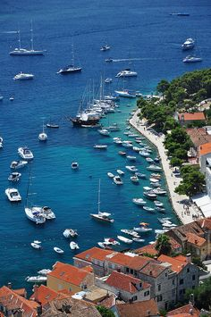 Hvar, Croatia - wish we could have stayed here longer