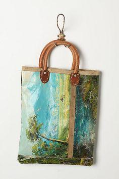Still Life Bag, Landscape #anthropologie