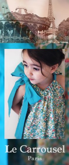 le Carrousel kids clothing: Love that bow!