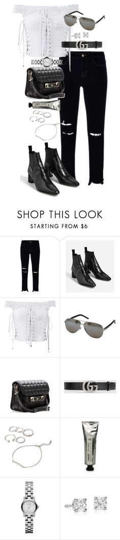 """""""Untitled #1061"""" by marissa-91 ❤ liked on Polyvore featuring J Brand, Dolce&Gabbana, Marc Jacobs, Proenza Schouler, Gucci, Forever 21, L:A Bruket, Marc by Marc Jacobs and Blue Nile"""