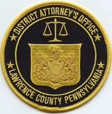 LAWRENCE COUNTY PENNSYLVANIA DISTRICT ATTORNEY PATCH