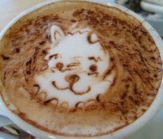 Koffie Art - Catty