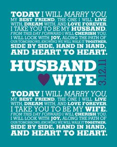 YOUR Wedding Vows
