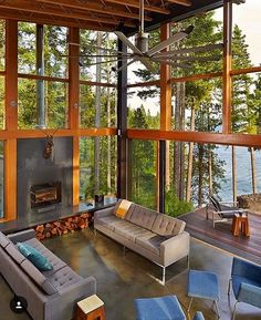 very modern house * very modern house & very modern house interior design & very modern house plans & very modern house interior & very modern house design & very small modern house & very simple modern house & very narrow modern house Garden Architecture, Interior Architecture, Contemporary Architecture, Seattle Architecture, Revit Architecture, Sustainable Architecture, Haus Am See, Beautiful Homes, House Beautiful