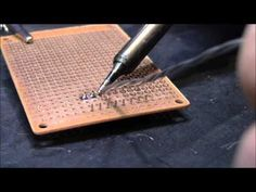 ▶ Beginner how to Solder - YouTube