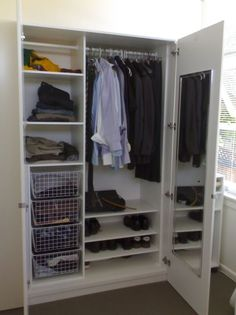 Being able to find everything when you need it, that is what a well designed wardrobe should do for you. www.rebelwardrobes.com.au #RebelWardrobes #Wardrobes