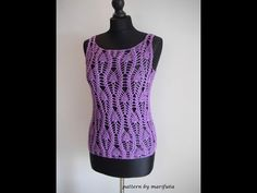 How to crochet pineapple top free pattern tutorial by marifu6a - YouTube