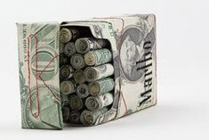 Check out the link to learn more Origami Fun Dollar Bill Origami, Money Origami, Origami Paper, Origami Gifts, Folding Money, Paper Folding, Tattoo Dollar, Homemade Gifts, Diy Gifts