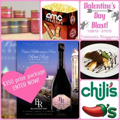 Enter to win this Valentine's Day giveaway ($350 prize package) from the Fabtastic Bloggers #FabBlastVDay #Fabtastic