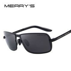 MERRY'S Design Men Classic CR-39 Sunglasses HD Polarized Sun glasses Luxury Shades UV400 S'8722  #men #me #wedding #kids #gift #selfie #trendy #wallets #sale #women #fashion #bride #fashionweek #style #photooftheday