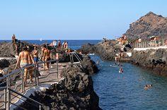 Rock pools, Garachico, Tenerife