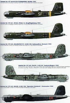 Heinkel He 177 - Aircraft design Luftwaffe, Ww2 Aircraft, Fighter Aircraft, Fighter Jets, Military Jets, Military Aircraft, Military Helicopter, Me262, War Thunder