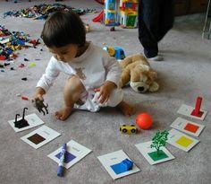 Identificando colores. #montessori