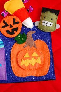 Schaer Talents: Toddler Halloween Quiet Book