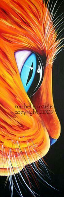 *Cat Art...Michelle Mardis