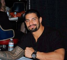 Roman Reigns...perfect smile!