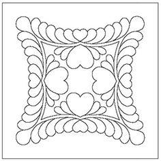 Heart Medallion Motif