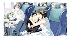 Nodame Cantabile - On a plane