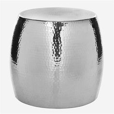 Buy the Safavieh Silver Direct. Shop for the Safavieh Silver Odin Round Hammered Table Stool and save. Round Accent Table, Round Stool, Accent Tables, Teak, Ceramic Garden Stools, Urban Decor, Kare Design, Silver Rounds, Contemporary Interior