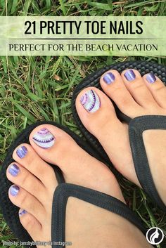 Are you looking for new toe nail designs? Your pedicure should always look perfect during the summer.
