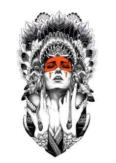 #native #tattoos #gaksdesign