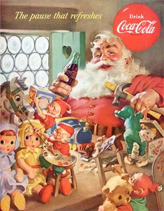 American Vintage Coke Cola Poster   Click for full picture