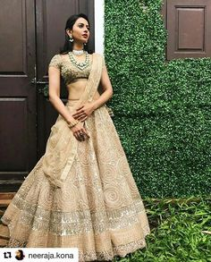 Take a look at Rakul Preet Singh adorned in an embroidered lehenga from our latest collection - Lasya. To shop this look, you can visit the JADE Peddar Road Store or reach us on 9833115000 International shipping available! Jewellery: Styled by: Bollywood Lehenga, Indian Lehenga, Bollywood Fashion, Lehenga Choli, Gold Lehenga, Black Lehenga, Pakistani, Indian Wedding Outfits, Bridal Outfits