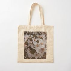 White Springs, Spring Blossom, Printed Tote Bags, Cotton Fabric, Reusable Tote Bags, Prints, Photography, Design, Photograph
