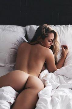 her exposed anus