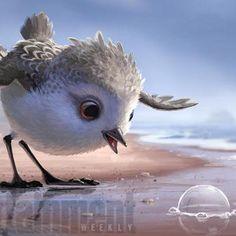 Hot: Piper: Meet Pixar's cutest new short-film hero  exclusive