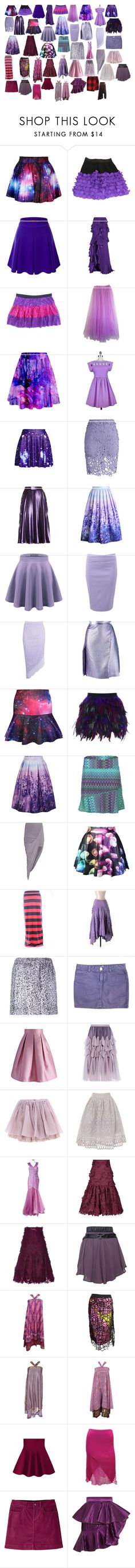 """Skirts 11"" by spellcasters ❤ liked on Polyvore featuring Sonia by Sonia Rykiel, Doublju, Roberto Cavalli, WithChic, Chicwish, Gucci, Avenue Montaigne, Boohoo, Marco de Vincenzo and prAna"