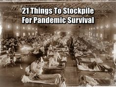21 Things To Stockpile For Pandemic Survival