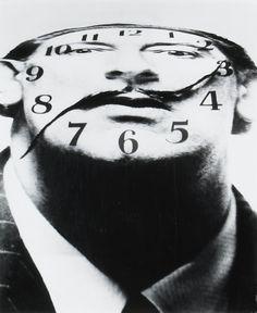 Portrait of Dali by Philip Halsman ca. 1950s
