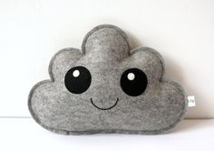Grey Cloud Pillow, Cute Cloud, Cloud Softie, Baby Gift, New Baby, Shower Gift…