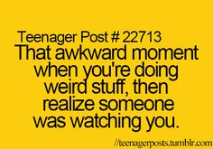 Awkward, Teenager Posts