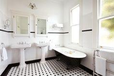 Bathroom Design : Marvelous Art Deco Modern Bathroom Art Deco Bath Modern Art Deco Bathroom Art Deco Bath Panel Amazing art deco bathroom Art Deco Bathroom Tile Design' Art Deco Bathroom Tiles' Art Deco Doors as well as Bathroom Designs 1920s Bathroom, Add A Bathroom, Art Deco Bathroom, White Bathroom Tiles, White Tiles, Modern Bathroom Design, Bathroom Styling, Bathroom Ideas, Bathroom Designs