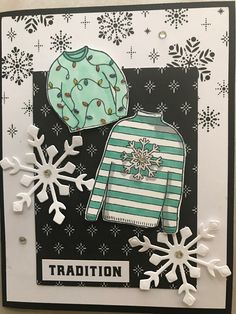 Christmas Sweaters Stampin'Up