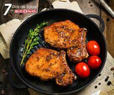 Lunes+-+Chuletas+de+cerdo+en+salsa+soya+y+miel+-+7+días+de+Sabor+con+ECONO