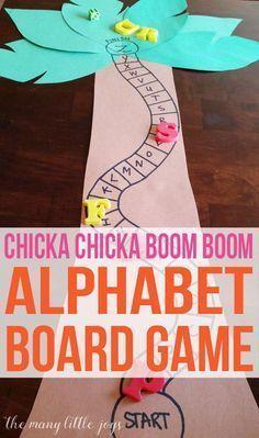 This alphabet skills