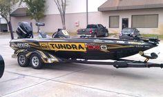 G Swindle's Bass boat 2012