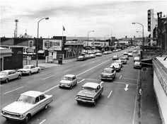 Hunter Street of old, Newcastle, NSW, Australia. Hunter Street, Australian Road Trip, Australian Photography, Poster Photography, Newcastle Nsw, Old Photos, Vintage Photos, My Town, Melbourne