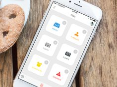 Task Manager App from http://bit.ly/1zG0tJkUXplore UX-UI Design inspiration gallery from the web - Editor Francesco Balducci