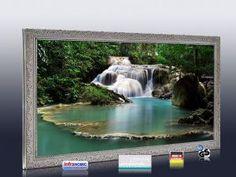 Infrarot Bildheizung 700 Watt StSi Flusslauf