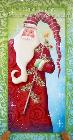 Sparkle Tree Santa ePattern - Chris Haughey - PDF DOWNLOAD