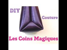 Magic Corners - Astuce couture et bricolage - Tutos Couture DIY By Viny DIY - Couture Blog Couture, Creation Couture, Techniques Couture, Sewing Techniques, Fabric Tape, Fabric Scraps, Sewing Hacks, Sewing Tutorials, Sewing Tips