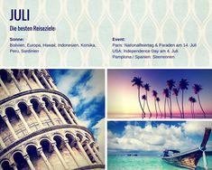 Die besten Reiseziele im Juli http://www.flitterbook.de/die-besten-reiseziele-fuer-jede-jahreszeit3/