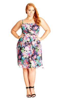8ca792b6ebf City Chic Tropicana Dress - Women s Plus Size Fashion City Chic - City Chic  Your Leading