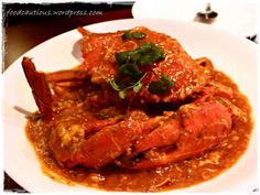 Chilli Mud Crab. Best one recently was at Omah's (Melbourne). Finger licking goodness.